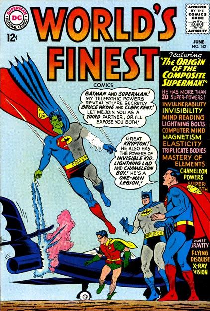 Worlds Finest Comics 142 - El enemigo más raro de Superman y Batman fue la mezcla original de ambos superhéroes de DC