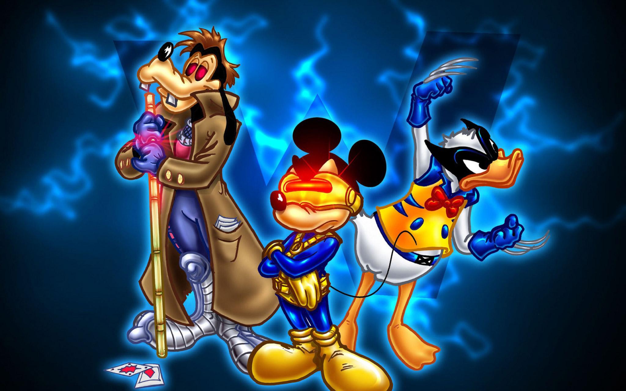 Goofy Mickey Mouse And Donald Duck Desktop Wallpaper Hdconv