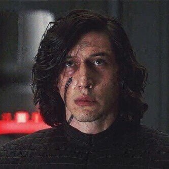 Image result for sad kylo