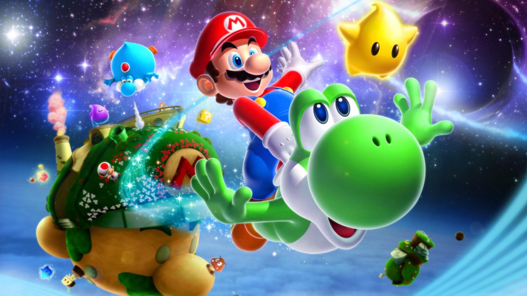 Nintendo Registra Nuevamente Las Marcas Super Mario Galaxy
